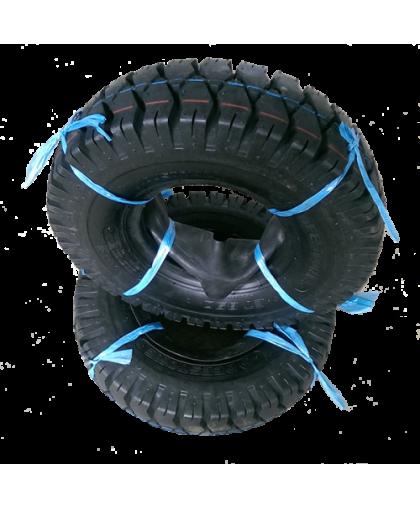Шина пневматическая (шинокомплект) 18х7-8 D301 Deestone 16PR