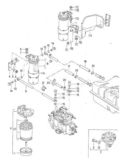 Болт к фильтру CAV (м 10)